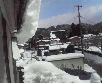 雪は一段落