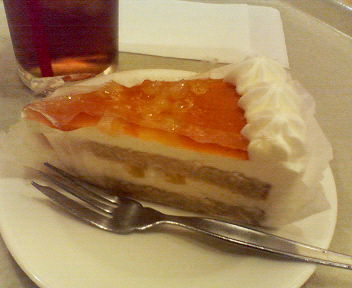 紅茶とりんごのケーキ