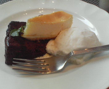 チョコとチーズとバニラアイス