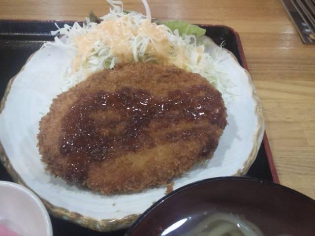 大仏コロッケ定食