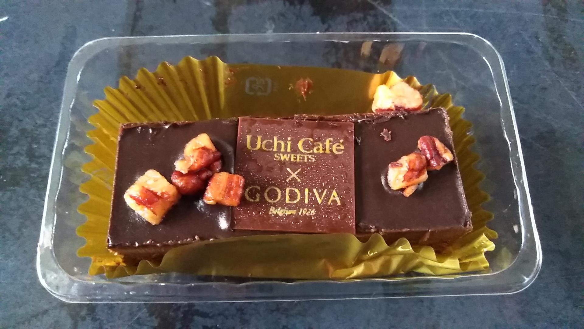 ゴディバのショコラケーキ